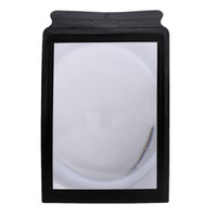 Wholesale A4 Pocket X Full Page Fresnel Lens Flexible Card Reading Magnifier Magnifying Tool E0151