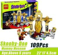 best museum - Bela Scooby Doo Mummy Museum Mysterious Statue Temple Altar Minifigures Building Block Best Legoelieds Toys