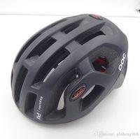 Wholesale With Box POC Octal Raceday Road Bicycle MTB Casco Bicicleta Cycling Helmet Capaceta Para Ciclismo For Women Men Adjustable cm