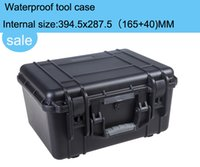 Wholesale high quality Tool case toolbox waterproof equipment case Impact camera case suitcase can choose pre cut foam lining