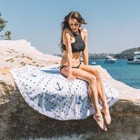Wholesale New Round Hippie Tapestry Beach Throw Roundie Mandala Towel Yoga Mat Bohemian