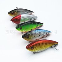 Wholesale 7cm g VIB Vibration Jolt Swimming Fishing Baits Hooks Lifelike Fish Lure fishing lures Bionic Bait Fishing Lure Fishing Tack