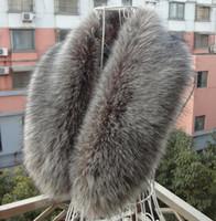 Wholesale Hot Sales New Design Artificial Fur Collar Women s Neck Warmers Fur Scarf Shawl Big size Shearling Fur