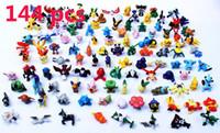 Wholesale 144PCS Set Poke mon Figures Poke mon Action Figures cm Children Mini Figures Toys Best Gifts For Kids