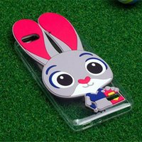 animal mate - For Huawei p8 p8 lite p9 p9 lite p9 plus mate mate rabbit TPU Silicone Animal Zootopia Phone Back Cover Case