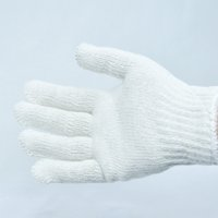 agriculture cotton - Cotton knitted working safety gloves for warehouse construction and agriculture High quality Outdoor work Garden work gloves