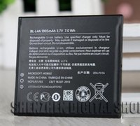 Wholesale BL L4A BLL4A Battery for NOKIA lumia RM1090 BL L4A Mobile phone battery plate MAH high quality