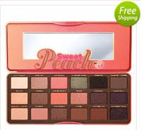 Wholesale 2016 New Sweet Peach Eye Shadow Collection Palette Colors Eyeshadow Makeup With Serial Num