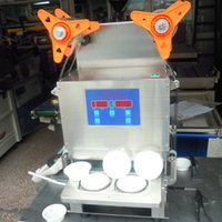 Wholesale Customized automatic capping machine a two jelly food automatic cup sealer sealing machin sealer trays automatic cup sealer Stainless steel