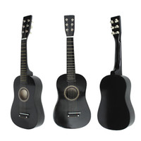 Wholesale 23 quot Wooden Acoustic String Mini Guitar Instrument Toy For Beginners