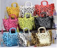 best messenger bag brands - best New Brand Design Retro carved hollow noble PU Leather Women lady Handbag Messenger Bag Shoulder Bag Tote Bag top sale