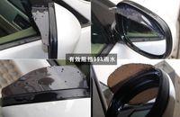 Wholesale New Hot pair Car Styling Universal Rain Shield Flexible Car Rear Mirror Storm Eyebrow IN