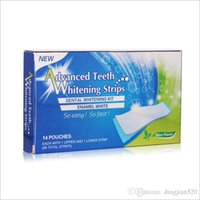 Wholesale Whitening Resistance Sensitive Teeth Stick Mint Tooth whitening paster Non peroxide teeth stick Teeth Whitening Strips
