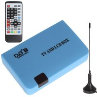 Wholesale Digital DVB T Stand alone TV LCD CRT Box Tuner Free View Recorder Receiver HMP_403