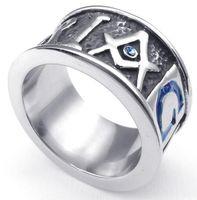 american organizations - 2015 Year New L Stainless Steel Casting Freemasonry Freemasons Organization Symbol Rings SZ Free and Accepted Masons