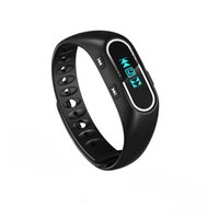 Wholesale H3 Smart Wristband Bluetooth Heart Rate Monitor Call SMS Reminder Waterproof Mini Band with OLED Screen for Android and iOS Phone