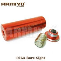 Wholesale Armiyo Tactical Hunting Shotgun Bore Sight GA Red Dot collimator infrared Laser
