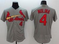 Wholesale 2016 St Louis Cardinals Baseball Jersey Throwback Vintage Yadier Molina Stan Musial O SMITH Stitched Logo White Grey Baseball Jersey