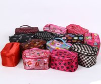 Wholesale 2016 High Quality promotional colorful Makeup bag Travel Zipper Fashion Cosmetic Pouch Bag With Logo Customized