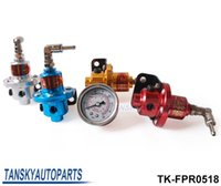 Wholesale SARD Fuel Pressure Regulator Fuel Regulator With white gauge In color blue silver golden red TK FPR0518