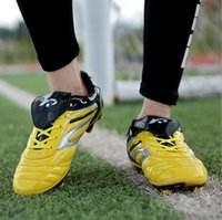 artificial toe nail - Autumn Warrior Soccer Shoes Male Broken Nails Soccer Shoes Artificial Meadow trainer Shoes Sports Shoes Men And Women Sneaker