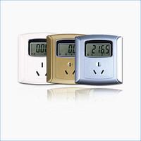 Wholesale digital electricity meter socket A socket panel metering electric smart meter J14572