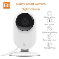 Wholesale Original XIAOMI YI smart mini home camera P IP HD wireless wifi baby monitor vision for IOS android