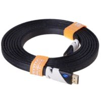 Wholesale 15M Black Color HDMI Cable digital audio amp video cables Gold Plated HDMI Connection V1 HD P TV Cable Computer cables