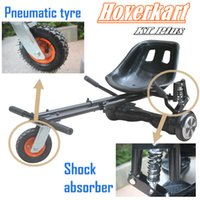 Wholesale Christmas Gift Titanium Steel Hoverkart with Shock absorber quot Pneumatic tyre for inch hoverboard accessory Go Kart for kid adult