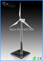Wholesale Metal Solar Powered Windmill Model windmill sun windmill house windmill house