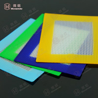 Wholesale 11 cm silicone baking mats custom non stick silicone mat with fibferglass silicone cutting mat pad F023