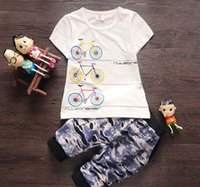 baby shorts trade - The Summer Boys cotton short sleeved suit Korean foreign trade years old child sets baby boutique sales