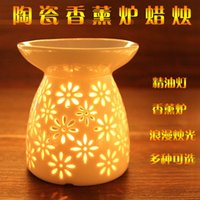 Wholesale Shipping ceramic incense fragrance lamp candle lamp oil furnace oil burner a variety of optional