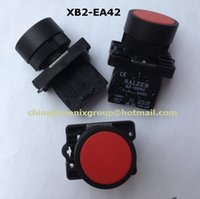 Wholesale 2015 hot sell mm push button switch NC N C Red Sign Momentary switch button Flush Push Button Switch V A XB2 EA42