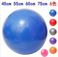 balance flexibility - 75cm cm cm Yoga Exercise Ball Balance Flexibility Strength Training Equipment Fitness Ball Gym Ball
