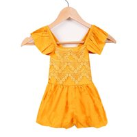 baby girl rompers sale - Hot Sale New Summer years Baby Girls One Pieces Lace Romper Fashion Floral Jumpsuits Rompers Clothes Colors SM0001