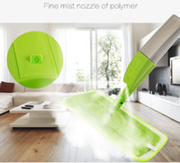 Wholesale new arrived spray mop Aluminium Pole Microfiber rotating mop Multifunction rotate mops floor cleaning Tools