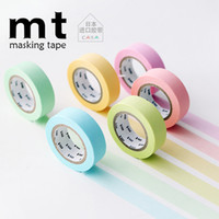 Wholesale Japan MT stationery and paper tape can be torn hand account of DIY seamless tape manual diary Deco sticker