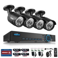 Wholesale ANNKE P CH DVR Video TVL IR CUT Home Surveillance Security Camera System