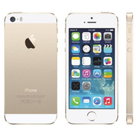 Wholesale 2016 Original Apple iPhone S Unlocked iPhone S i5S Dual Core GB GB quot IPS A7 iOS G MP WIFI Cellphone Refurbished