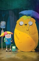 art live tv - 24X36 INCH Adventure Time TV Play Poster family silk wall ART SILK POSTER quot