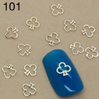 Wholesale T104 Gold Plum Blossom Shape Other Shape is Available D Metallic Stickers Nail Art For DIY Decorations