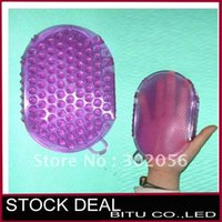 Wholesale Silicone double sided bath ball H007