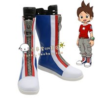 adams shoes - Youkai Watch Nathan Adams cosplay cos shoes