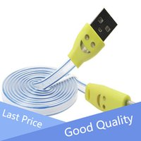 android lights - Plastic Colorful Android Light Led Data Cable Double Sided Mini Usb Cable
