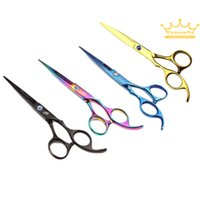 Wholesale 2015 New Arrival quot Professional Barber Hairdressing Cutting Scissors hairdresser Salon Hair Shears Hot Selling New