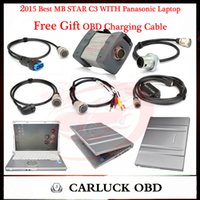 best laptop offer - Best Offer Quality A Mb Star C3 multiplexer Work For Car Truck With Pansonic Miitary Laptop Free Gift OBD Charging Cable