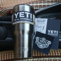 beer express - DHL OR SF EXPRESS Cleaning Bilayer Stainless Steel Insulation Cup OZ YETI Cups Cars Beer Mug Large Capacity Mug Tumblerful