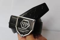 belt buckles punks - Hot Punk P Belt Mens womens high Quality Genuine Leather black and white color Designer Cowhide Q Belt For Mens womens Luxury Belt