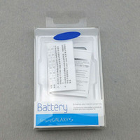 Wholesale Empty box battery retail packaging paper box for Samsung galaxy S3 S4 S5 note3 note per